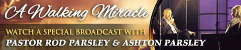 A Walking Miracle | Breakthrough - Ashton Parsley Interview w/ Pastor Rod Parsley